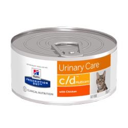 HILL'S feline diet C/D umido 156 gr.