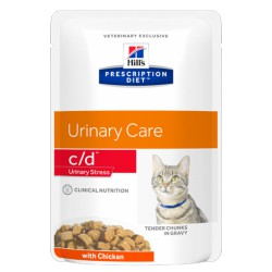 HILL'S feline diet C/D URINARY STRESS 85 gr.