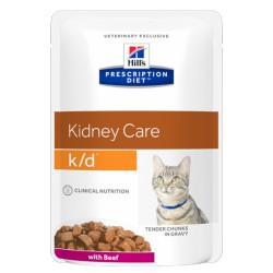 HILL'S feline diet K/D umido 85 gr.