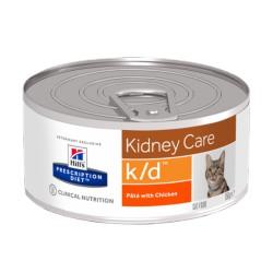 HILL'S feline diet K/D umido pezzetti 156 gr.