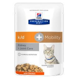 HILL'S feline diet K/D +MOBILITY 85 gr.