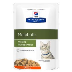 HILL'S feline diet METABOLIC umido busta 85 gr.
