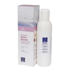 Shampoo manti bianchi