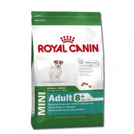 Royal Canin dog MINI ADULT 8+