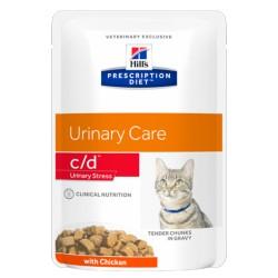 HILL'S feline diet C/D URINARY STRESS 85 gr.