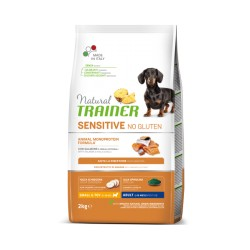 TRAINER Adult Mini SENSITIVE no gluten salmone